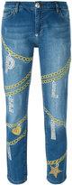 Philipp Plein Ashley boyfriend jeans - women - Cotton/Spandex/Elastane - 27
