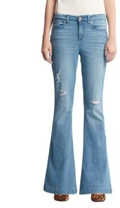 Scoop High Rise Flare Jean Medium Wash Women's