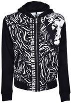 Versus Lion Print Hoodie