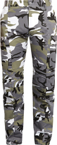 Vetements Camouflage-print trousers