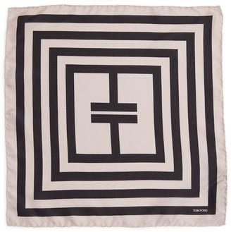 Tom Ford Stripe Pocket Square