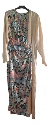 Rixo Pink Silk Dresses