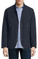 Robert Graham Cadiz Nylon-Blend Jacket, Navy
