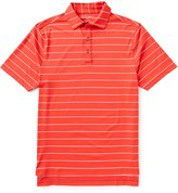 Bobby Jones Golf XH20 Momentum Striped Stretch Jersey Short-Sleeve Polo Shirt