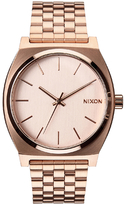 Nixon The Time Teller Watch Rose Gold