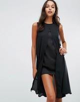 Boohoo Split Front Mini Dress
