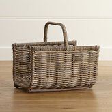 Crate & Barrel Birney Magazine Basket