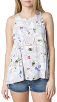 O'Neill Ona Floral Print Woven Tank