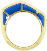Andy Lif Blue Enamel Cobra Ring