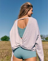 Thumbnail for your product : aerie Weekend Pretty Back Sweatshirt