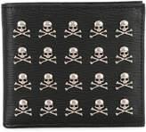 Philipp Plein wallet with skull appliqués