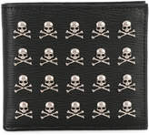 Philipp Plein wallet with skull appliqués