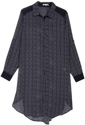 Standards & Practices Millicent High/Low Shirt Dress (Plus Size)