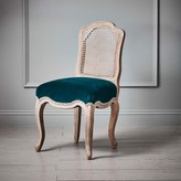 Graham and Green Caen Chair With Peacock Seat