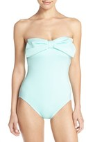 Kate Spade Women's Bow Neck One-Piece Swimsuit