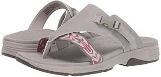 Dansko Alecia (Stone Microbuck) Women's Sandals
