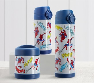 Pottery Barn Kids Mackenzie Marvel Glow-in-the-Dark Spider-Man Hot & Cold Container