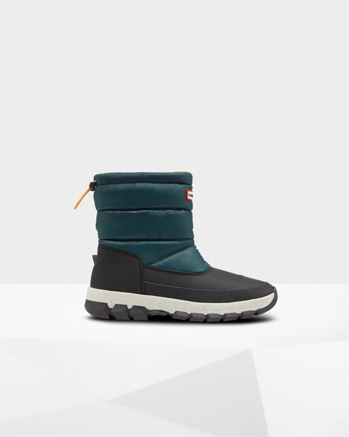 Hunter Men's Original Insulated Short Snow Boots