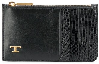 Tod's Logo Leather Cardholder