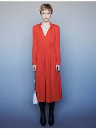 Maje Dress With Drawstring Waist