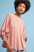 Eri + Ali Tie-Sleeve Sweatshirt