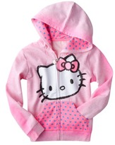 Hello Kitty Hello Style Girls' Hoodie - Pink