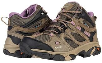 Hi-Tec Ravus Vent Mid WP (Smokey Brown/Taupe/Very Grape) Women's Waterproof Boots