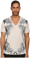 Just Cavalli Winged V-Neck Tee