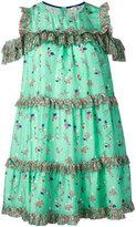 Manoush floral print ruffled dress