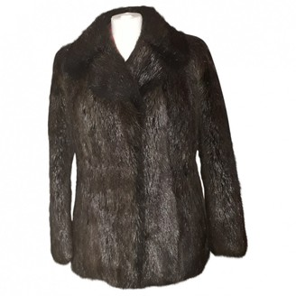 No Name Brown Mink Jacket for Women