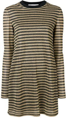 Philosophy di Lorenzo Serafini Striped Flared Dress
