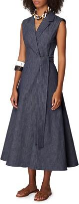 Carolina Herrera Sleeveless Coat Dress