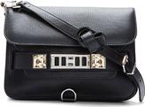 Proenza Schouler Black Classic Leather PS11 Shoulder Bag