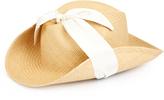 Federica Moretti Matilde straw cowboy hat