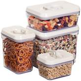 Honey-Can-Do Air-Lock Food Storage Container - Set of 4