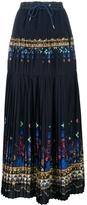 Sacai Pleated Drawstring Skirt
