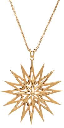 Rachel Jackson London Rockstar Long Statement Necklace Gold