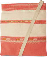 Toms Coral Embroidered Canvas Passage Crossbody