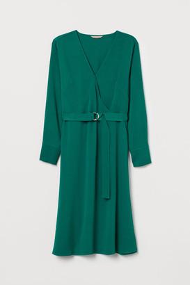 H&M H&M+ Wrap dress