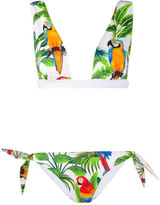 MC2 Saint Barth Yali tropical print bikini