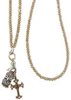 Catherine Michiels Smokey Diamond Color Bohemian Crystal Necklace
