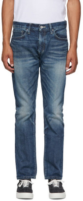 Neighborhood Indigo Washed Deep Narrow Jeans
