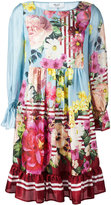 Blugirl floral print flared dress - women - Silk/Polyester - 38
