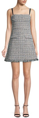 Avantlook Textured Mini Dress