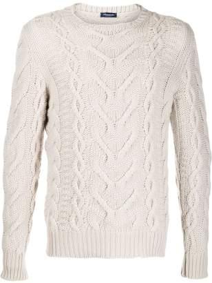 Drumohr cashmere knitted jumper