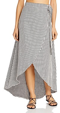 Onia Amanda Cotton Wrap Skirt Swim Cover-Up