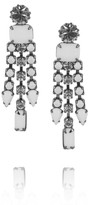 Tom Binns Carte Blanche Swarovski crystal drop earrings
