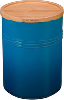 Le Creuset 22 Oz Canister w/ Wood Lid, Marseille