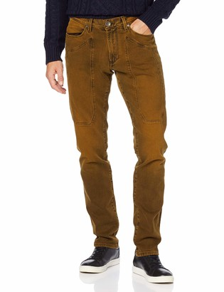 Jeckerson Men's 5pkts Patch Slim Jeans