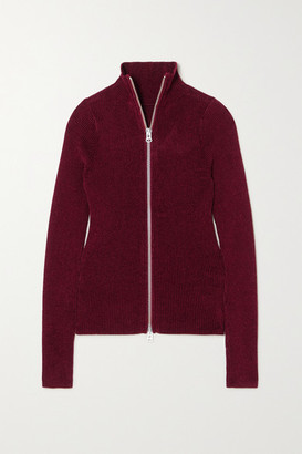 Acne Studios Ribbed-knit Turtleneck Sweater - Red